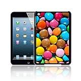 BIZEBEE Exklusives Chocolate BAR, Bonbons, Smarties, Maltesers' Bling Schutzhülle für Apple iPad 4 Hülle, Schutzhülle, Schutz - schneller Versand to fit Apple iPad 4 Smarties