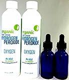 Bio peroxyde d'hydrogène de qualité alimentaire Certifié–2bouteilles
