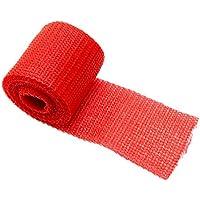 Orthopaedic Casting Tape | POLYESTER | Gips Verband | Cast Material | Stützverband | Farbe: rot | 3 STÜCK preisvergleich bei billige-tabletten.eu
