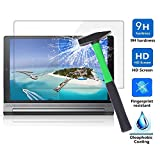 Lenovo Yoga Tab 3 Plus Pellicola Protettiva, Infiland Pellicola Protettiva Schermo in Vetro Temperato per Lenovo Yoga Tab 3 Plus 25,65cm (10,1 pollice IPS) Convertible Media Tablet(Tempered-Glass - 1 Pack)