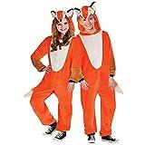 Schlauer Fuchs Kostüm Kinder Amscan