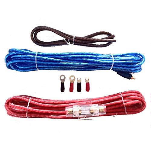 Kabelset für Verstärker, Anschluss-Set, Kabelsatz AWG 8