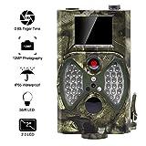 distianert Wildkamera Fotofalle 12MP 1080P Full HD Jagdkamera Infrarote 20m Nachtsicht Wasserdichte IP65 Überwachungskamera mit 2.0' LCD Display