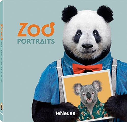 Zoo Portraits. Das Buch über Tiere und bedrohte Tierarten. Geschenk für Kinder. Lehrreiches Anschauungsmaterial für die Schule und Biologieunterricht. Deutsche Ausgabe (Deutsch) - 19x19 cm, 156 Seiten