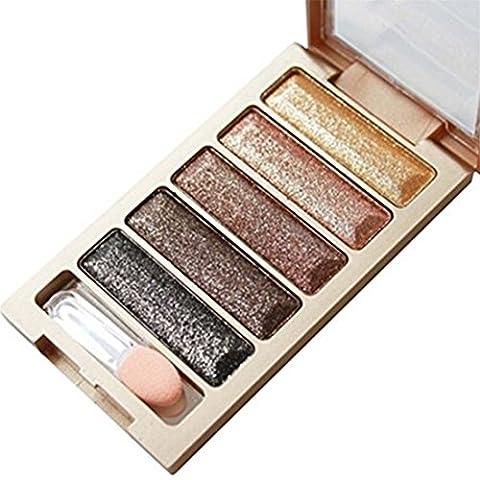 VWH Profi Lidschatten Palette 5 Farben Nude Makeup Lidschatten Eyeshadow Set Kosmetik