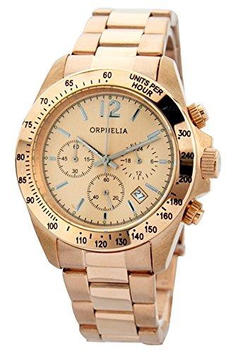 Orphelia Damen-Armbanduhr Accessible Chronograph Quarz Edelstahl