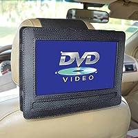 Dontdo 9 Inch Car Headrest Mount Holder Strap Case for Swivel Flip Style Portable DVD Player