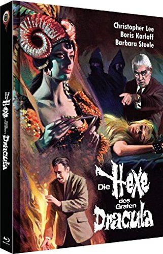 Die Hexe des Grafen Dracula - Uncut/3-Disc Limited Collector's Edition No. 4 (Blu-ray & DVD - Limitiert auf 222 Stück, Cover B)
