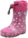 Beck Mädchen Hunde Gummistiefel, Pink (Pink), 20 EU