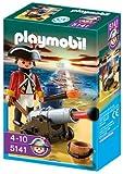 Playmobil 5141 - Kanonen-Offizier der Rotröcke