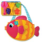 Stephen Joseph Fish Beach Totes with San...