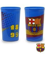 Set 2 Vasos F.C. Barcelona