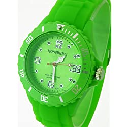Nerd® Koss B. Armbanduhr in Neon-Grün, Voll im Trend! A-204