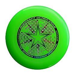 Discraft 175 Gram Ultra Star Sport Disc, Green