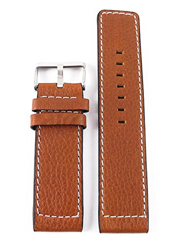 Oozoo Armband - Ersatzarmband für Oozoo Uhren etc. - 32 mm - Farbe : Cognac