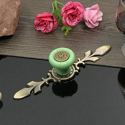 Defect Türgriff Moderne minimalistische rustikalen Schrank Kleiderschrank Keramik Zink Legierung Einlochmontage behandeln