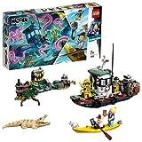 LEGO®-Hidden Side Le bateau hanté Jeu de Construction Interactif de de Chasse Aux Fantômes Réalité Augmentée pour iPhone et Android Garçon et Fille 7 Ans et Plus, 310 Pièces 70419