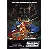 "Póster Star Wars ""The Empires Strikes Back/El Imperio contraataca"" (68,5cm x 101,5cm)"
