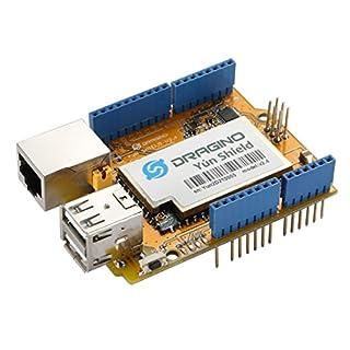 Aihasd Newest! Yun Shield v2.4 All-in-one Shield for Arduino UNO LeonardoMega2560 Linux WiFi Ethernet ESP8266 IOT