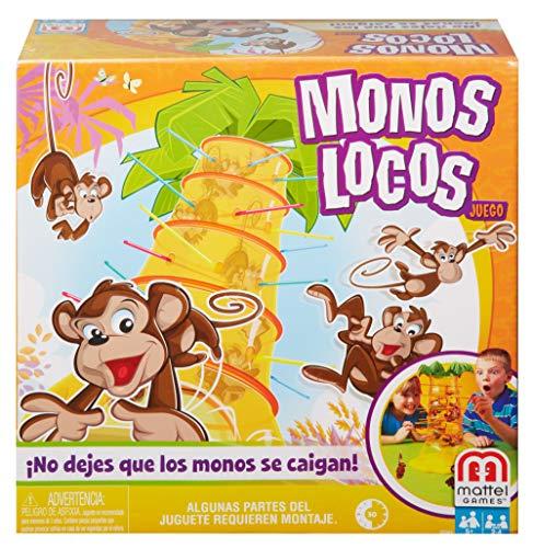 Comprar juego de mesa: Mattel Games 52563 - S.O.S. Juego infantil de alarma mono adecuado para 2 - 4 jugadores, juegos infantiles a partir de 5 años