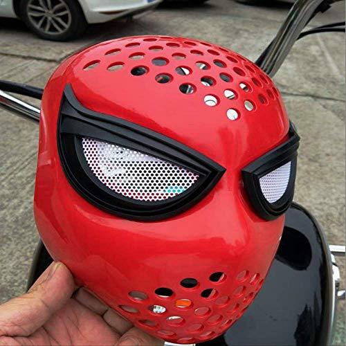 dhude Superheld-Party-Maske Für Kinder Superhelden Cosplay Party Heroes Rückkehr In Die Schulzeit Spider-Man Formmaske Faceshell Enge Kleidung Accessoires