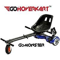 Go hoverkart Monster–Carbon Schwarz