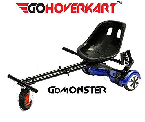 Go hoverkart Monster – Carbon Schwarz