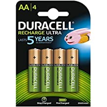 Duracell Recharge Ultra Batterie Ricaricabili