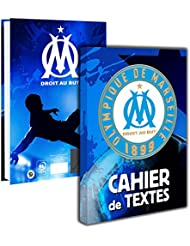 Cahier de texte OM - Collection officielle Olympique de Marseille