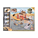#5: IGP Construction Engineering Vehicle Model Set Role Playset for Kids 26 Pcs