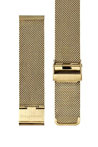 Milanese Mesh Armband Strap Gold - Cronometrics