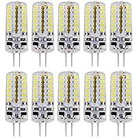 Liqoo® 10x G4 DC 12V lampadina lampada LED bianco caldo/freddo