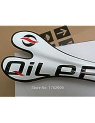 Sillín Bicicleta MTB de Fibra de Carbono Completa QILEFU Brilliante NUEVO