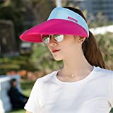Westlink Chic Men Women Adjustable Plain Visor Outdoor Sun Cap Sports Hat Tennis Beach Damen Sonnenhut Einheitsgröße Golf Tennis Mütze