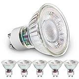 B-right® LED Lampe, 5er Set GU10, 5W Glühbirne, 3000K Warmweiß, Ersetzt 50w, 380 Lumen, Reflektorform