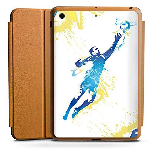 DeinDesign Apple iPad Mini 4 Smart Case Hülle Tasche mit Ständer Smart Cover Torhüter Fußball Torwart -