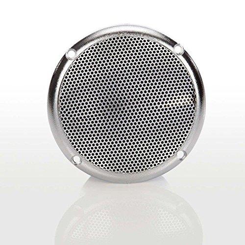 Lautsprecher silber für Sauna und Dampfbad