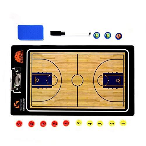 PQZATX Gerade Basketball Taktisches Board Coaching Commander Taktische Zwischen Ablage (Basketball Coaching-board)