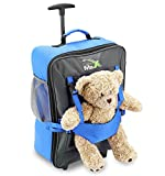 Cabin Max Handgepäckstück Kinder Koffer Trolley Blau Kindertrolley Kinderkoffer