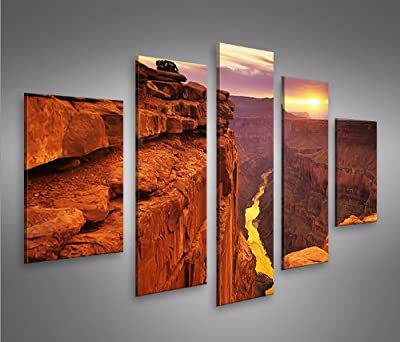 Grand Canyon MF Giclee Canvas Art Picture Print NEW Modern Wall Art 5 Pieces