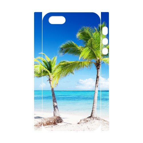 LP-LG Phone Case Of Island Beach For iPhone 5,5S [Pattern-6] Pattern-5