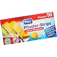 FIGO Pflaster - Strips wasserabweichen wasserfest 50 Pflaster preisvergleich bei billige-tabletten.eu