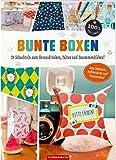 Bunte Boxen: 24 Schachteln zum Herausdrücken, Falten und Zusammenkleben! (100% selbst gemacht)