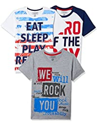 Sunday Sale : Flat 50% And More OFF On Cherokee Boys' Plain Combo T-Shirt (Pack of 3) low price image 15