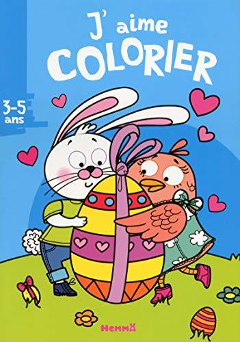 J'aime colorier (3-5 ans) (Lapin Poule Oeuf)
