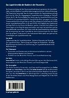 Das Liquiditätsrisiko der Banken in der Finanzkrise: Künftige Regulierungsvorschriften und ihre Auswirkungen (Business, Economics, and Law)