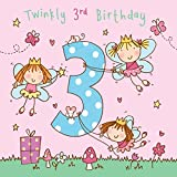 Best Cousin Girls - Twizler 3rd Birthday Card for Girl with Fairy Review