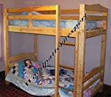 Build Your Own Bunk Bed DIY Plans for Twin FULL Queen or KING sizes Adult or Child So Easy, Beginners Look Like Experts.