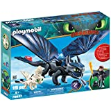 DreamWorks Dragons Hiccup and Toothless with Baby Dragon by PLAYMOBIL