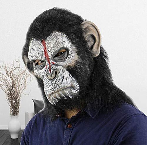 Kostüm Kleinkind Beängstigend - FIREWSJ Halloween Maske Halloween Beängstigend Realität Beängstigend Gruselig Beängstigend Mann, Maske Maskerade Liefert Rollenspiel Kostüm Party Requisiten
